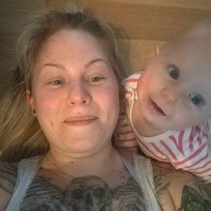 Uusperheen äiti Iida, 31, Vantaa