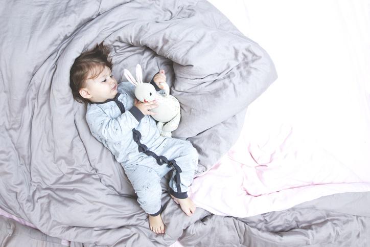 Lapsen nukkumaanmenoaika