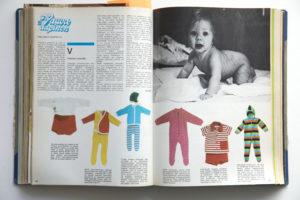 1970-luvun vauvan vaatteet