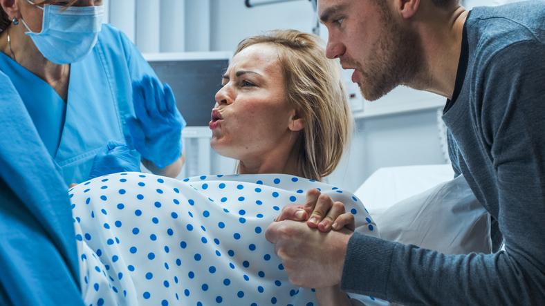 Ponnistusvaihe synnytyksessä