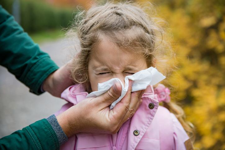 Lapsella flunssa