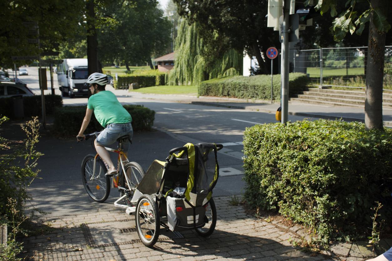 Ei ole aikaa liikunnalle? Ota taapero pyörän kyytiin.