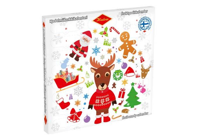 halva joulukalenteri
