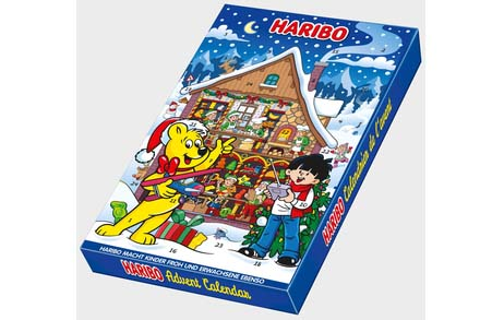haribo joulukalenteri