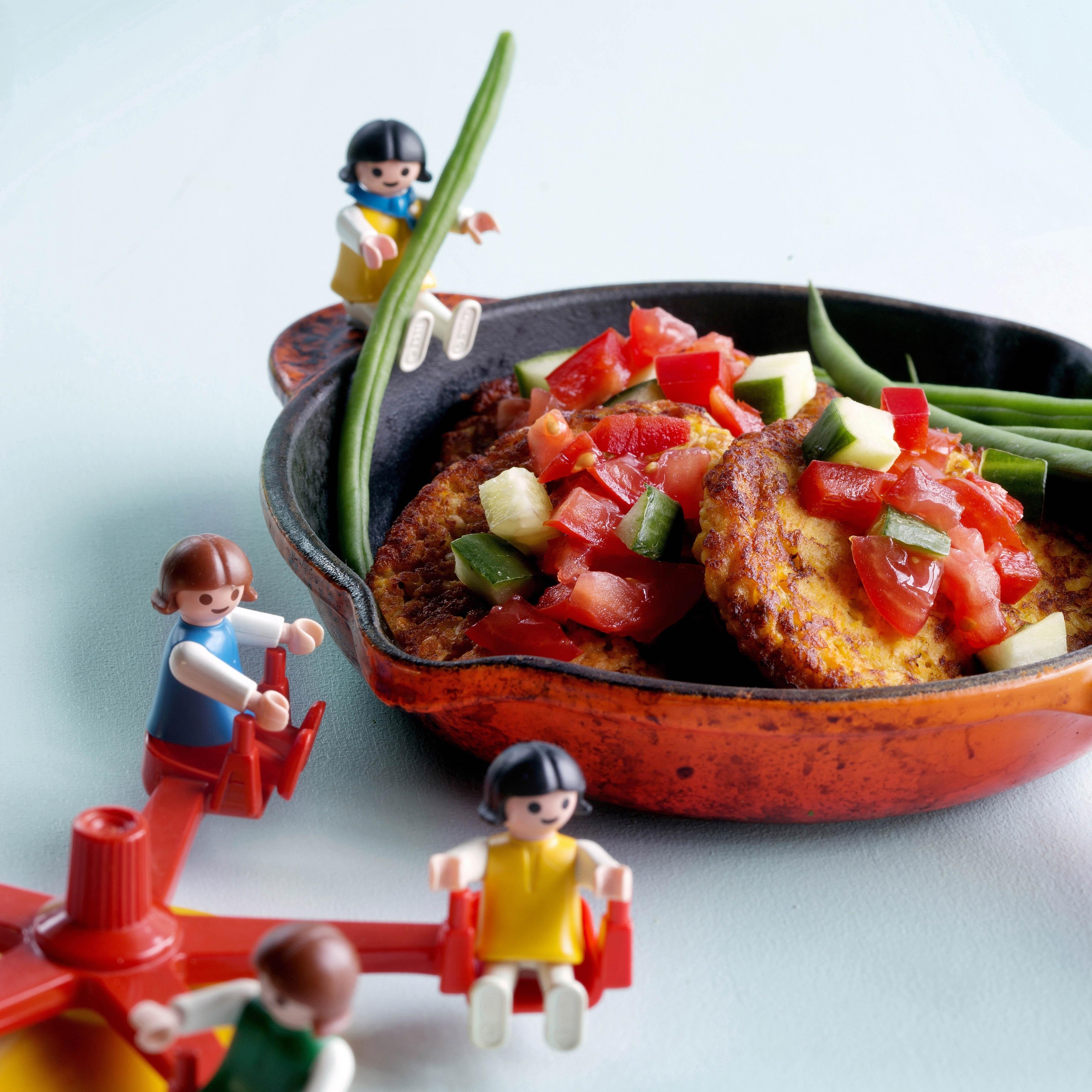 Helppo kasvisruoka lapselle