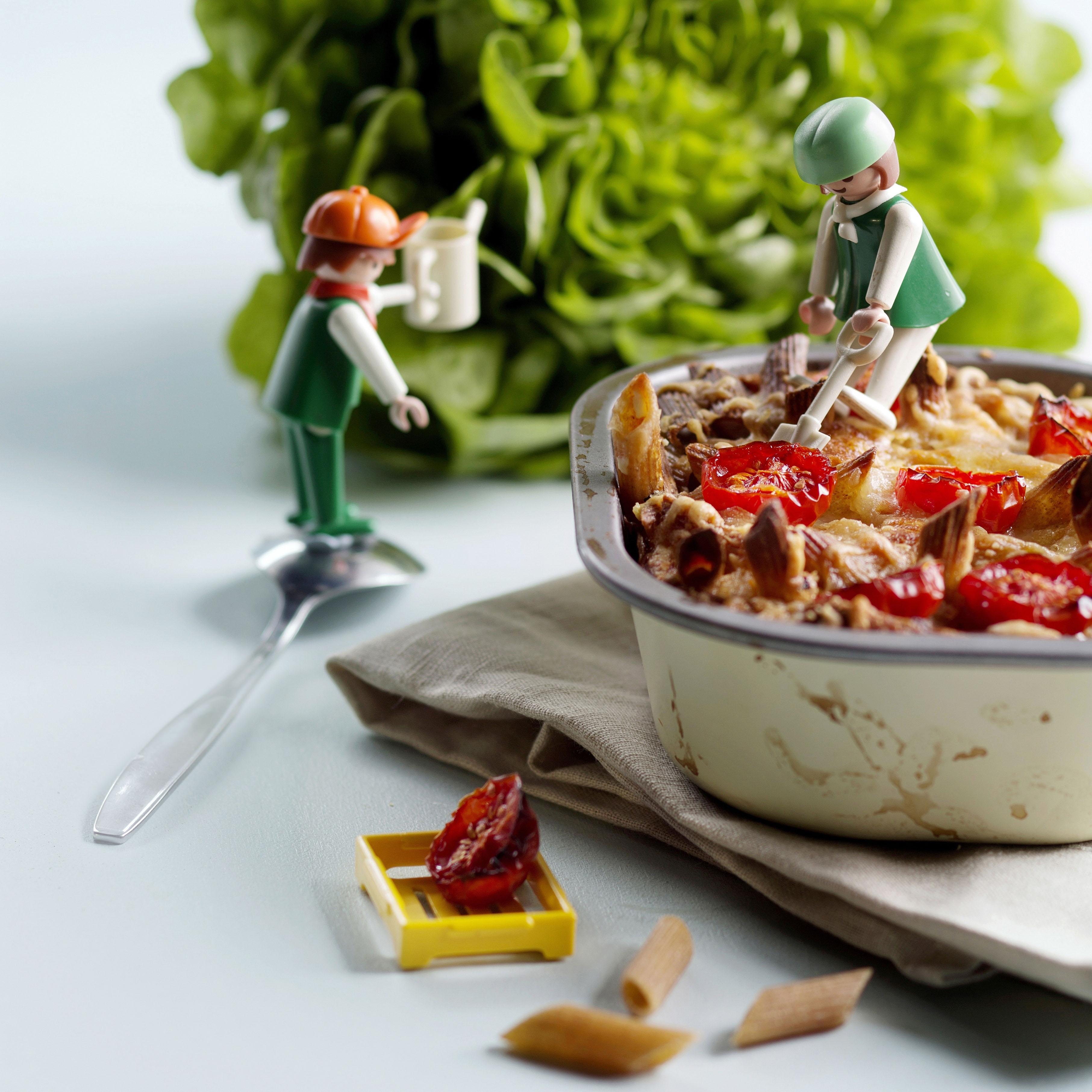 Helpooa kasvisruokaa lapsille