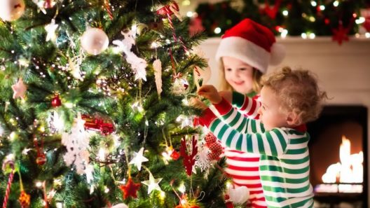 Joulupukin kirje jouluksi lapsille