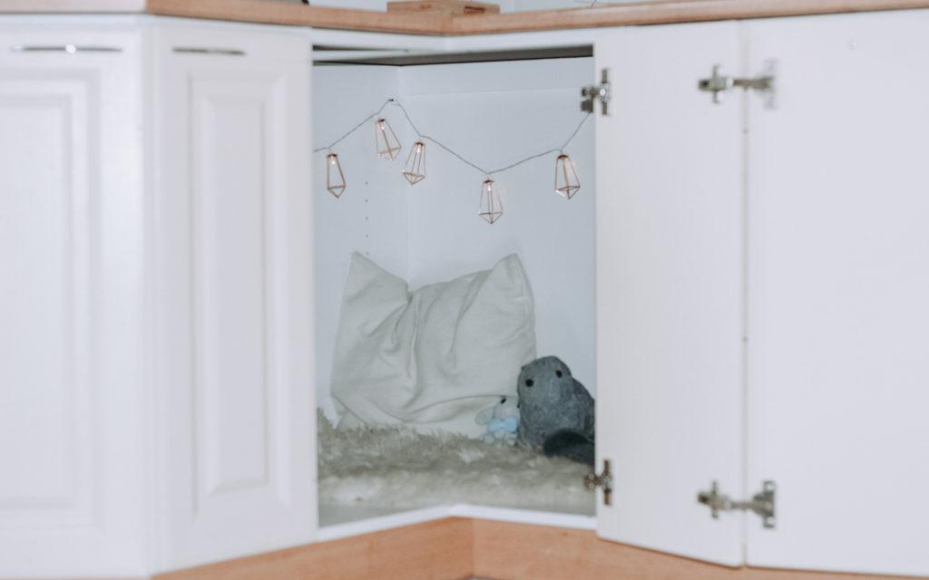 Maja kulmakaappiin syntyy helpoilla ohjeilla.