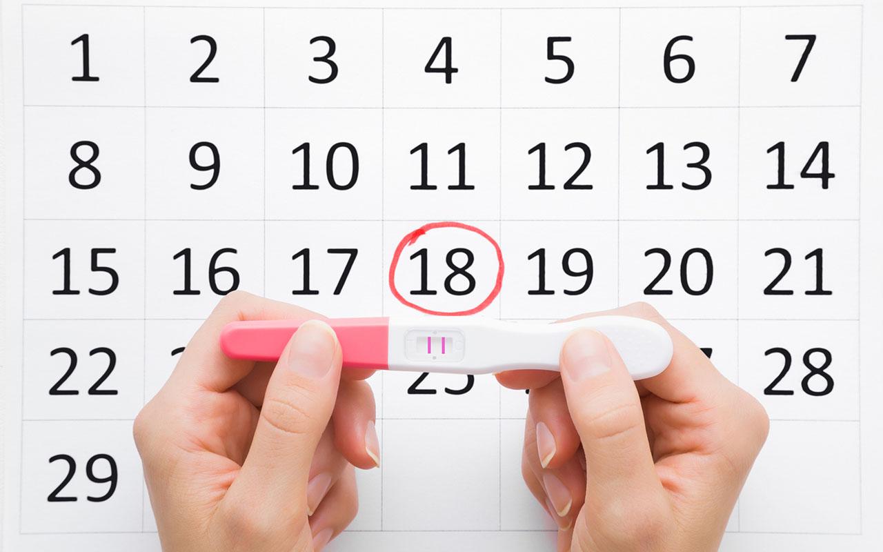 Kemiallinen raskaus näkyy varhaisena plussana raskaustestissä.