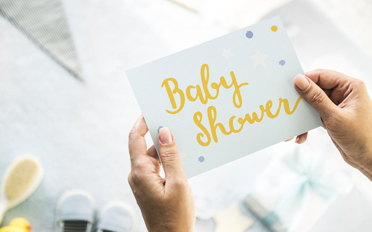 Baby Shower -kortti