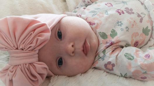 Meea-vauva ja Downin syndrooma