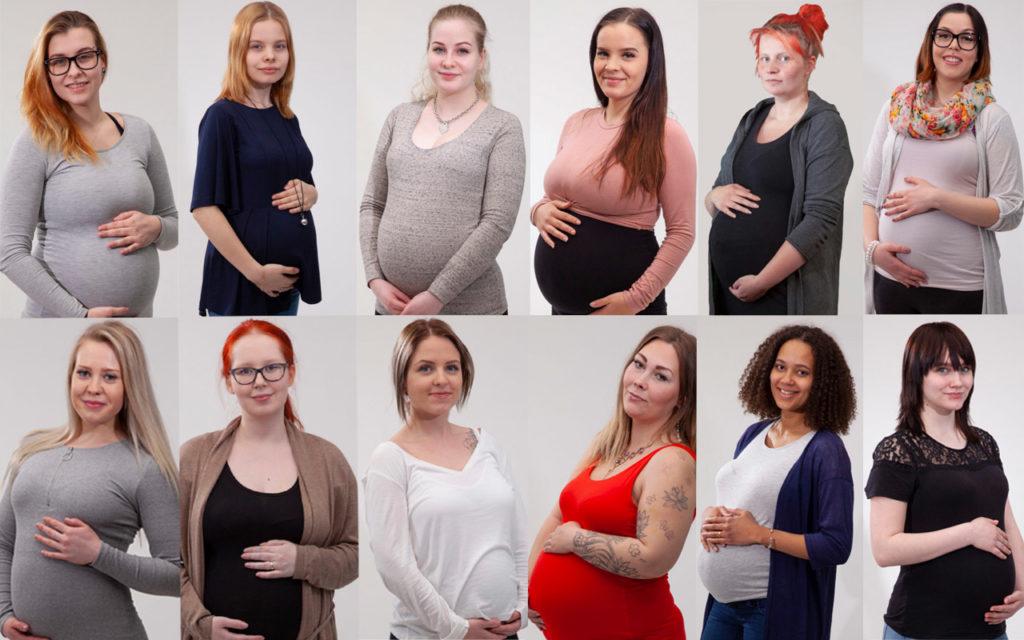 Toisenlaiset teiniäidit -sarjan äidit esittelyssä.