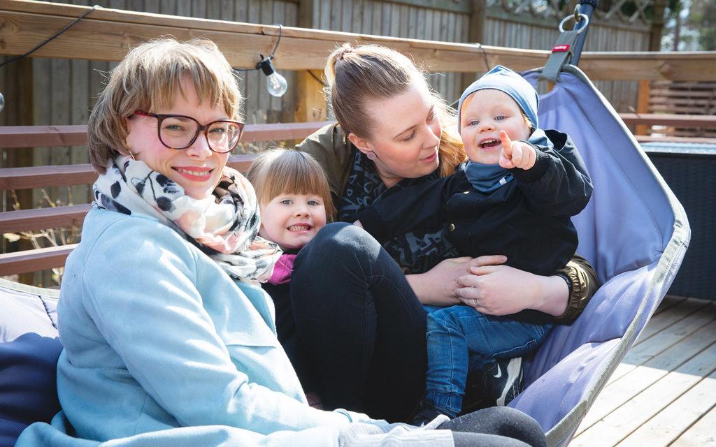 RIVF-hoidot eivät ole Finströmien perheessä salaisuus, päinvastoin.