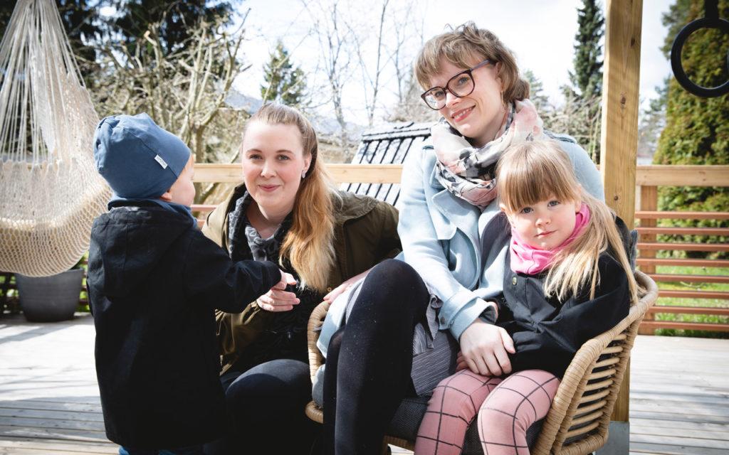 Finströmit ovat saaneet lapsensa RIVF-hoitojen avulla.
