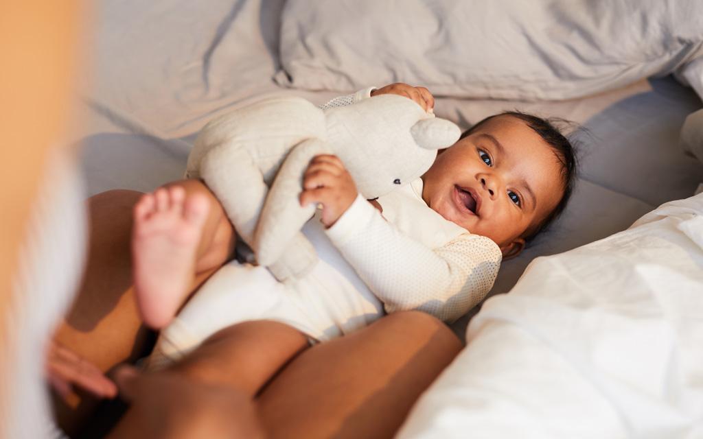 Pakkauslista vauvalle: ota mukaan unikaveri.