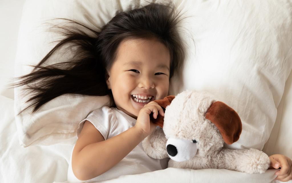 Sopiva tyyny lapselle on riittävän matala.