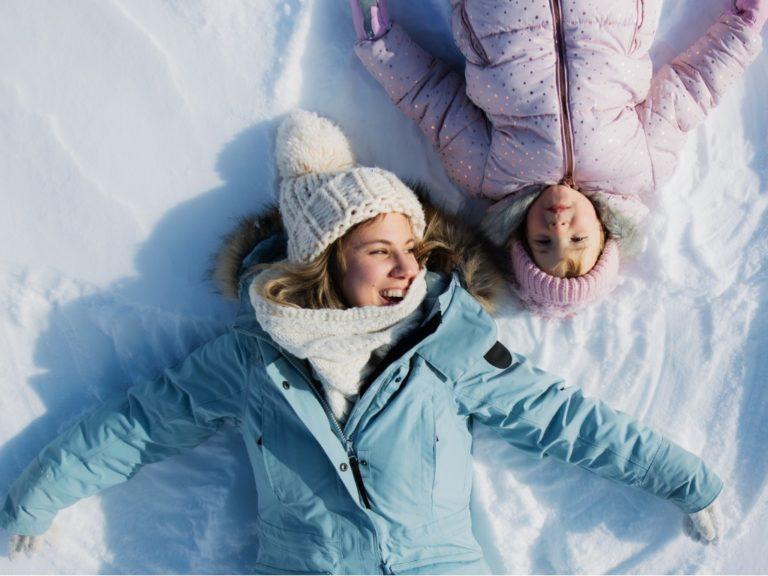 Tekemistä ulkona: Lumienkelit ovat tuttuja, mutta entäpä lumitiikerit?