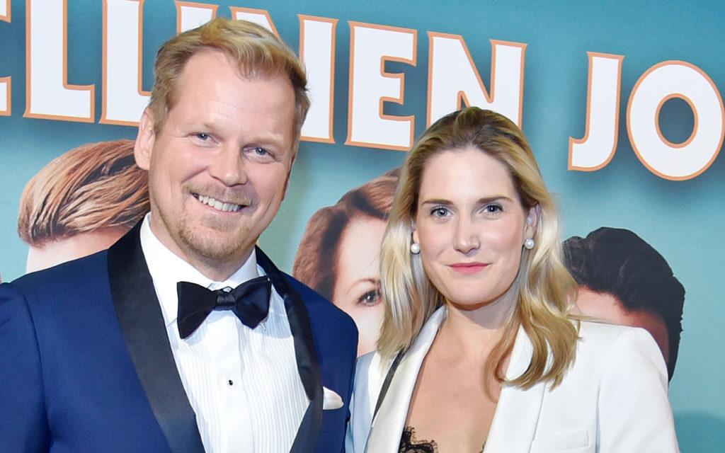 Antti Luusuaniemi ja Lili Zoe Ermezi elävät jälleen vauva-arkea.
