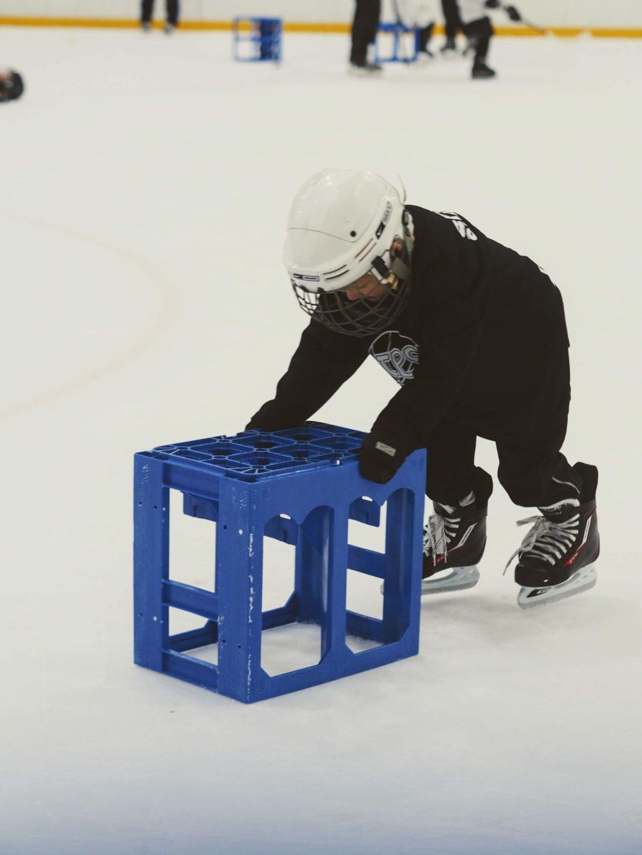 Ensimmäinen jääkiekkoharjoitus