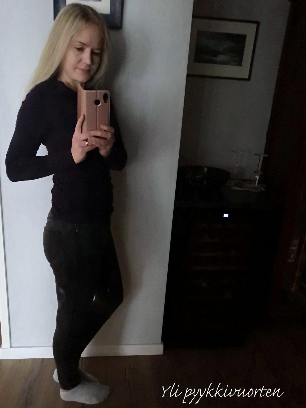 naisen paino