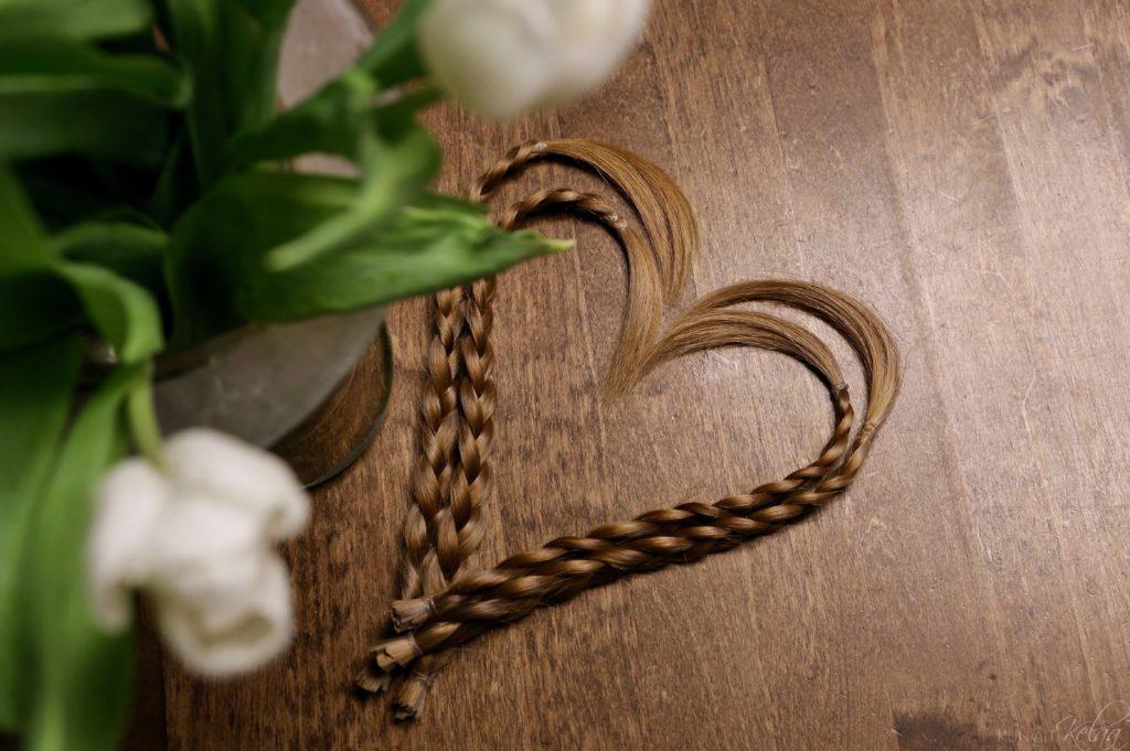 Hiusten lahjoitus hyväntekeväisyyteen