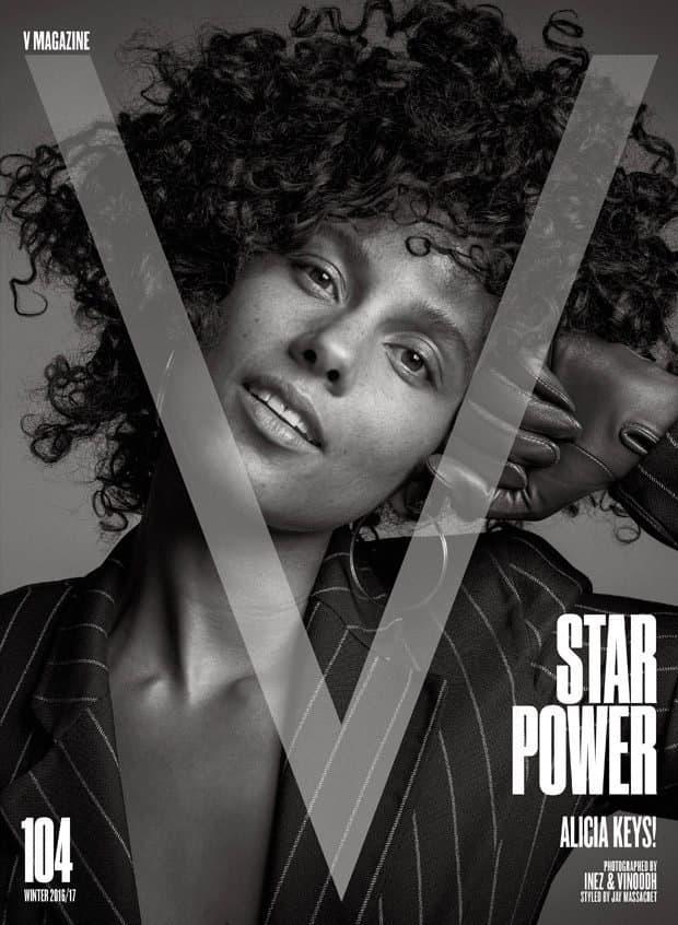 Alicia Keys kampanjoi meikittömyyden puolesta.