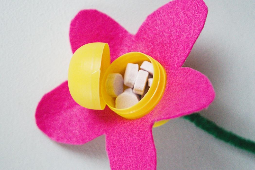 Kukan keskellä on pastilleja