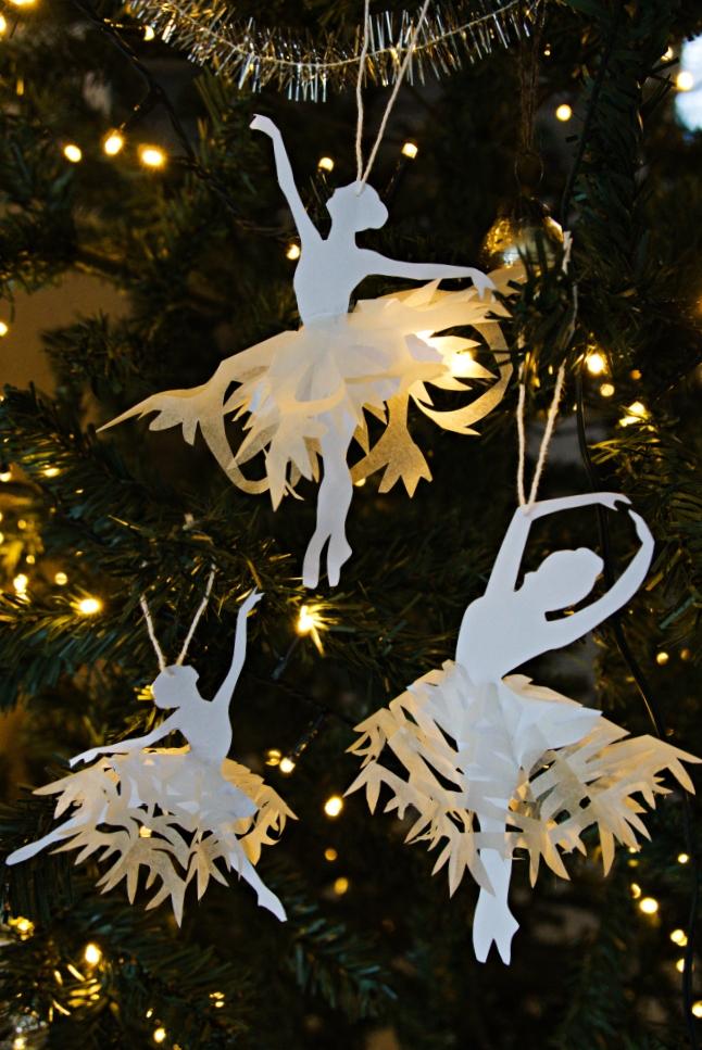 ballerina joulukoriste