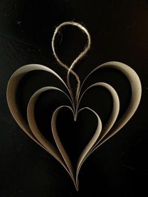 sydän joulukoriste