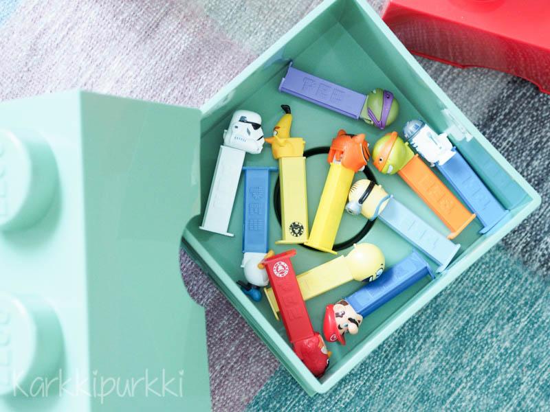 lastenhuone lego säilytys