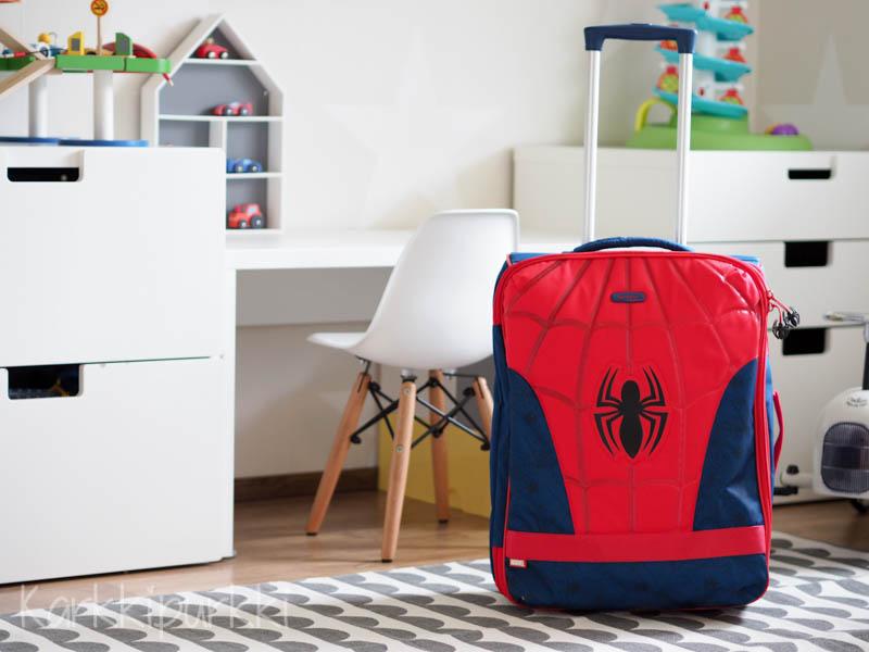 hämähäkkimies matkalaukku