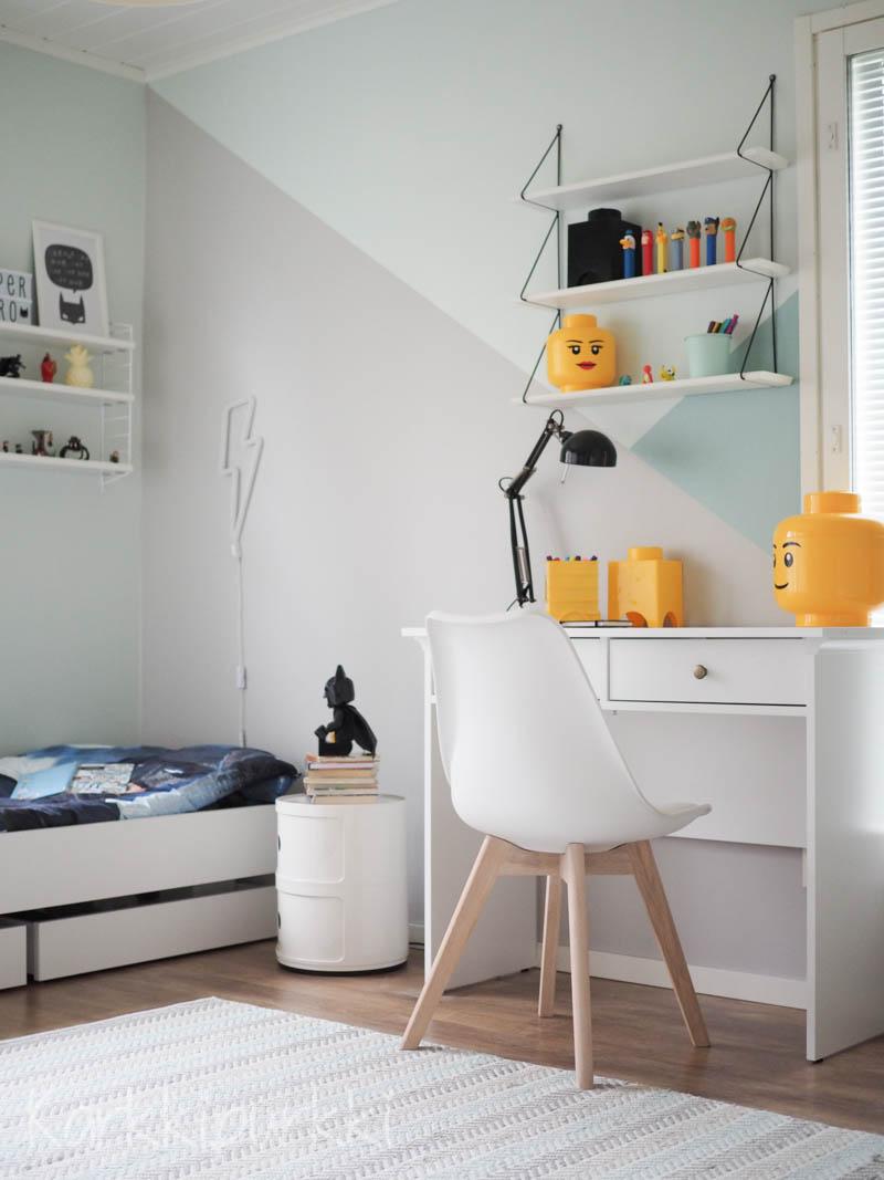 ekaluokkalaisen huone blogi