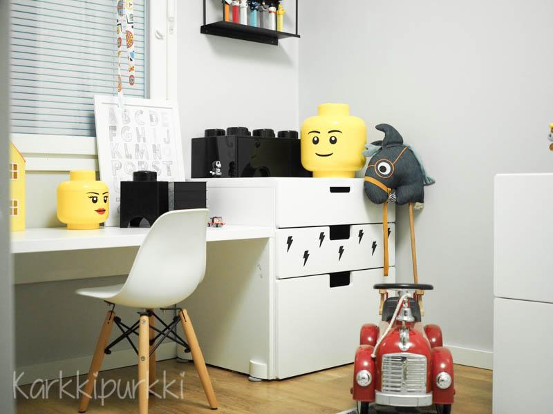 lastenhuone säilytys lego