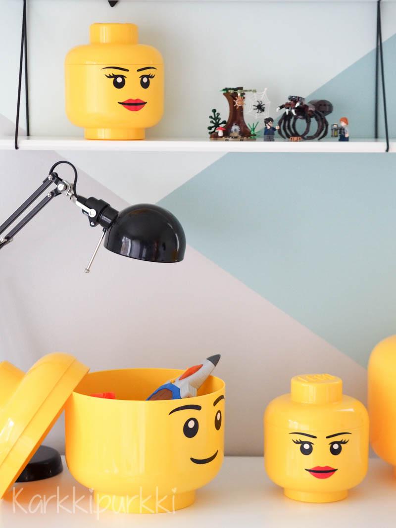lego pää rasia